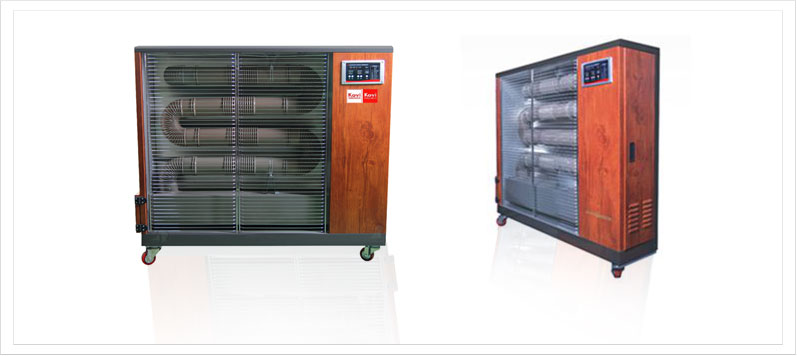 Smart far infrared pellet heater